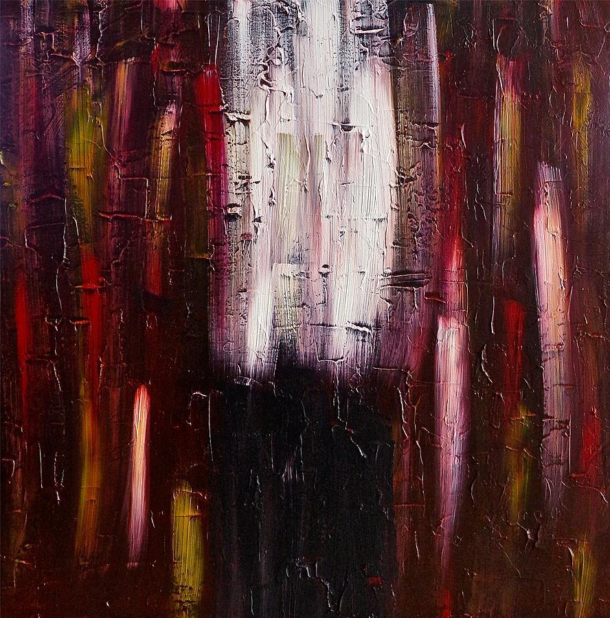 Brown Painting - Dead End by Rob Van Heertum