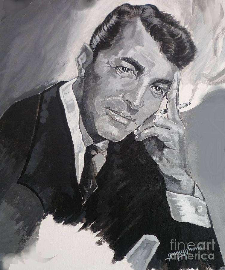 Dean Martin Painting