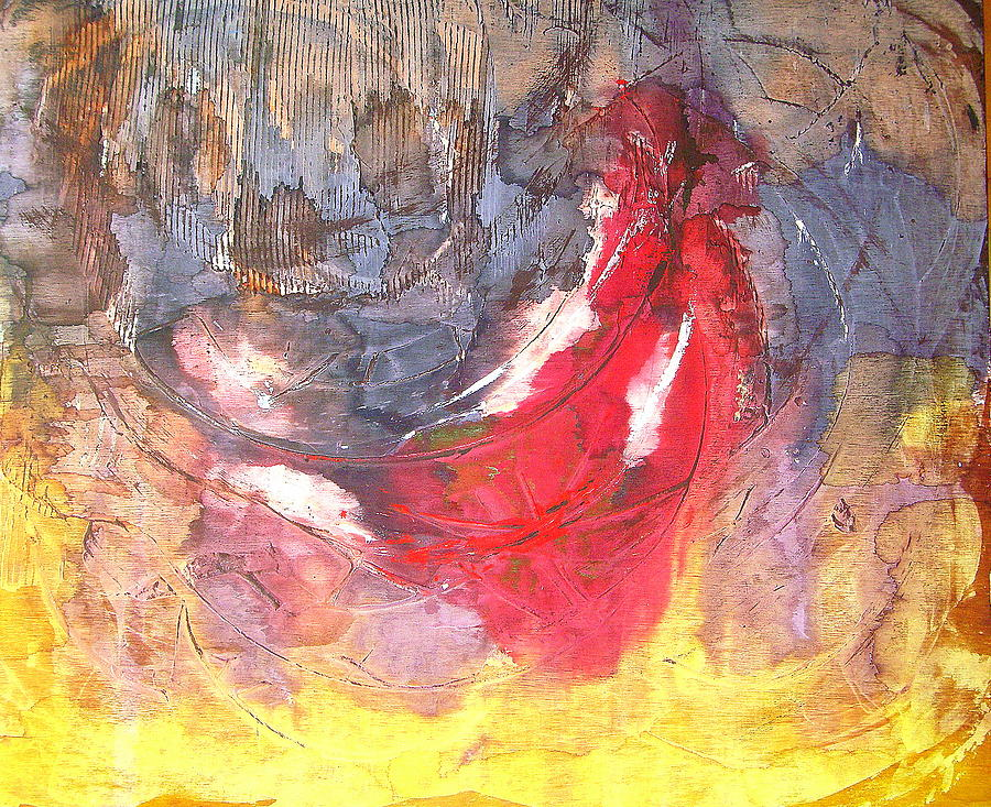Spiritual Art Painting Painting - Dear Children Let Us Not Love With Words Or Tongue But With Actions And In Truth by Lalo Gutierrez