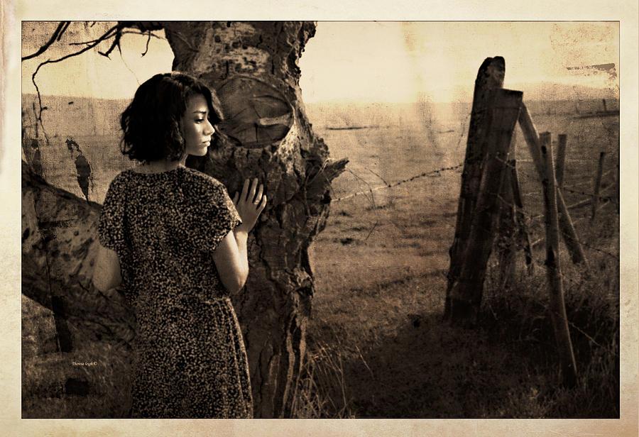 Retro Photograph - Dear Norma by Theresa Tahara