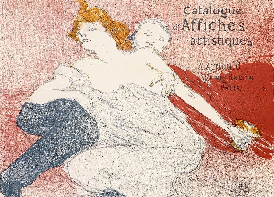 French Painting - Debauche Deuxieme Planche by Henri de Toulouse-Lautrec