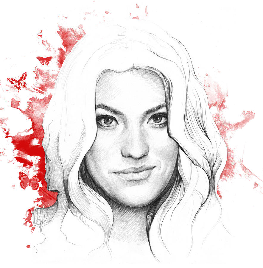 Debra Morgan - Dexter Drawing
