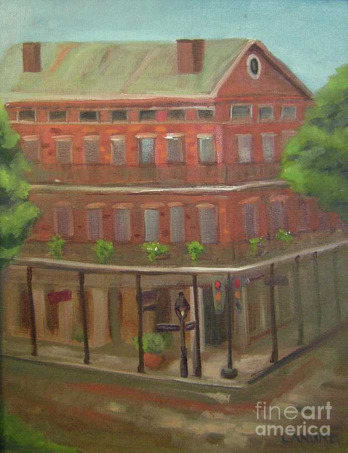 New Orleans Painting - Decatur by Lilibeth Andre