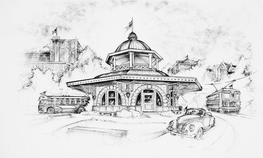 Decatur Transfer House Drawing