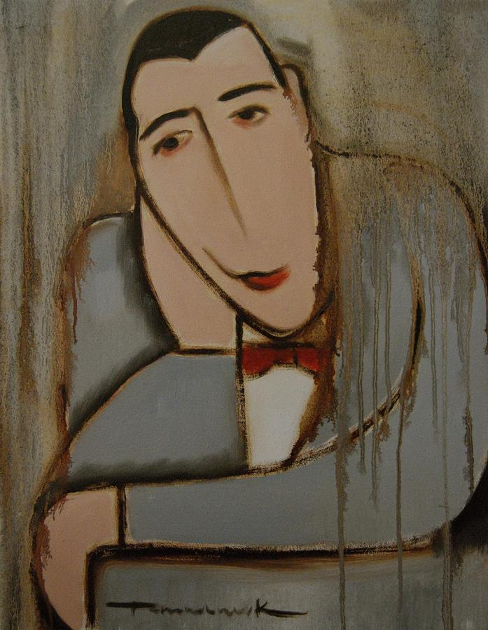 Deco Pee- Wee Herman Painting