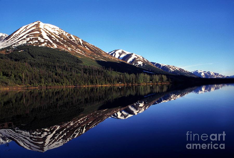 Deep Blue Lake Alaska Photograph