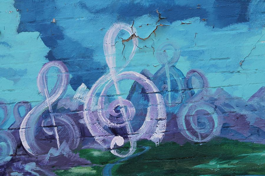 Deep Ellum Photograph - Deep Ellum Means Music by Lorri Crossno