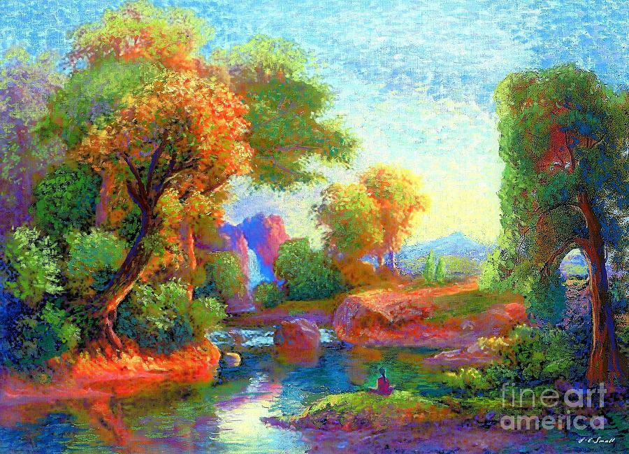 Deep Peace Painting