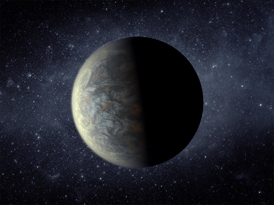 Deep Space Planet Kepler-20f Photograph