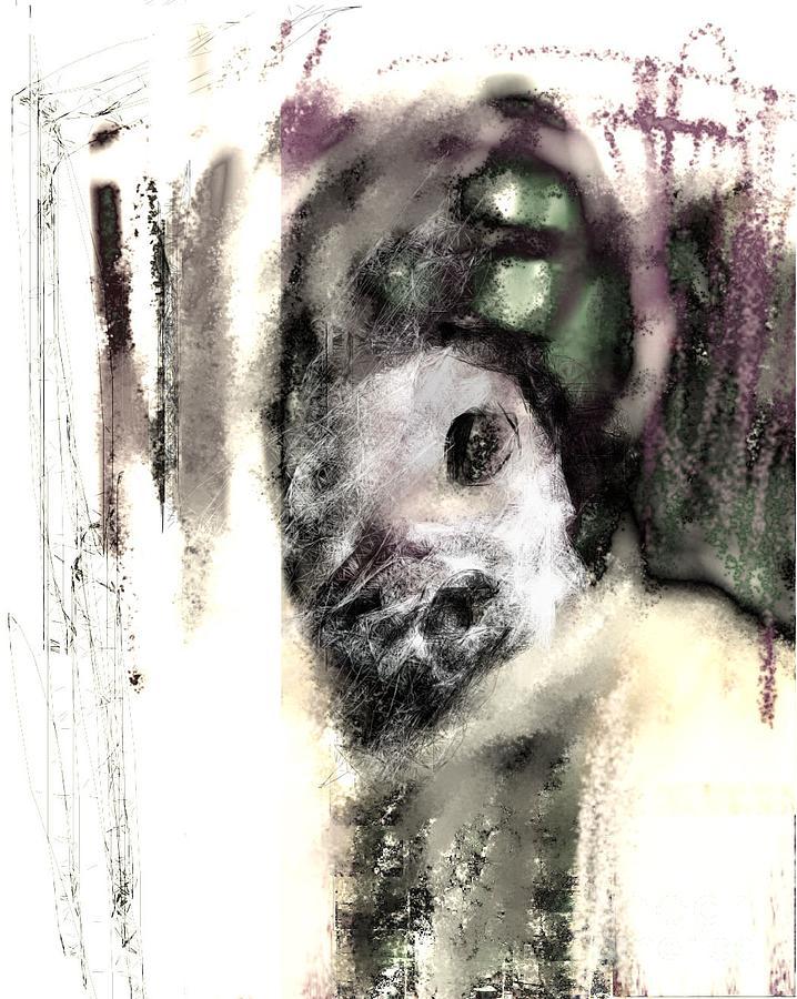 Digital Art - Deformed Personality by Ruth Clotworthy