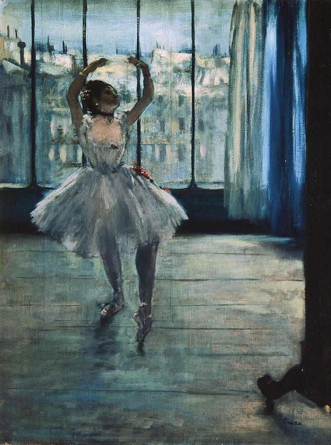 Degas, Edgar 1834-1917. Dancer Photograph