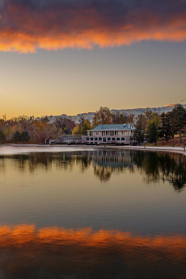 Delaware Park Marcy Casino Autumn Sunrise Photograph