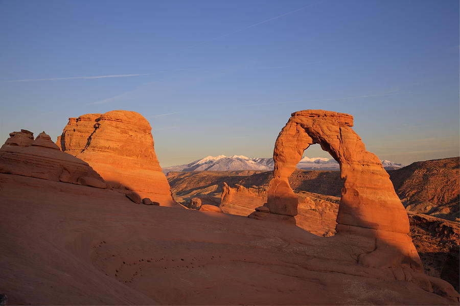 Delicate Arch At Sunset-2 Photograph