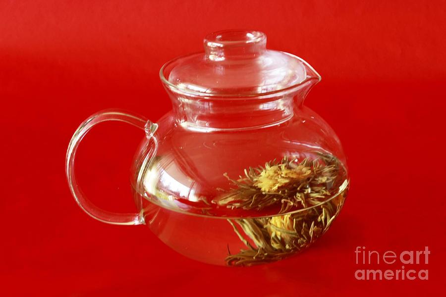 Delightful Blooming Tea Photograph - Delightful Blooming Tea by Inspired Nature Photography Fine Art Photography