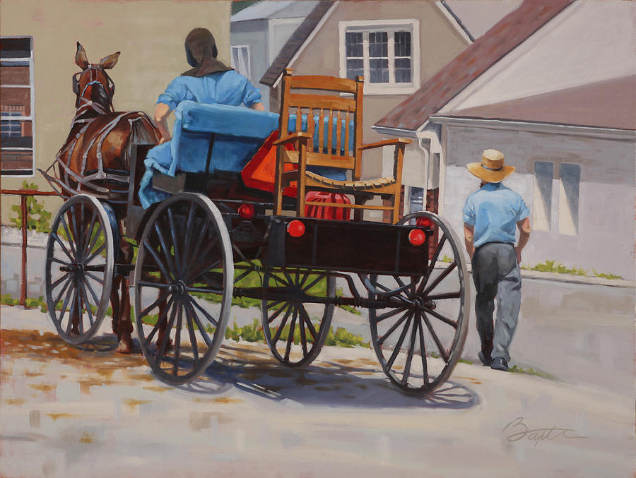 Delivering The Chair Painting