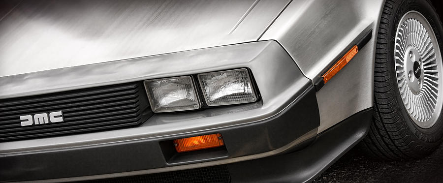 Delorean Dmc-12 Photograph
