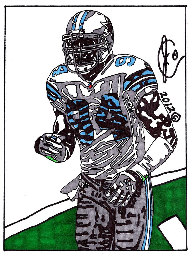 Demarcus Ware Drawing  - Demarcus Ware Fine Art Print