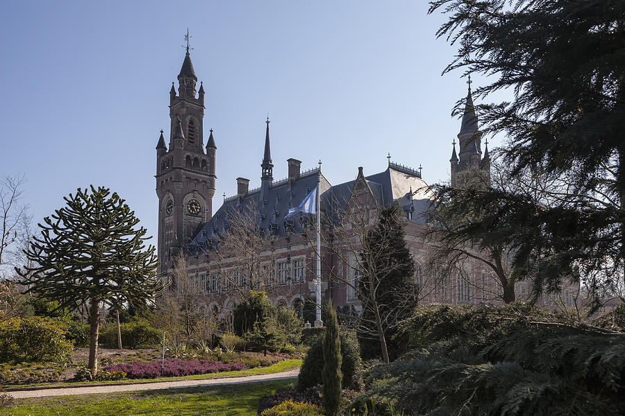 Peace Palace Photograph - Den Haag by Joana Kruse