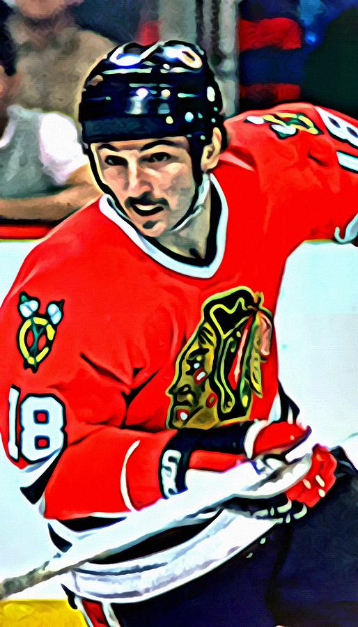 Denis Savard Painting