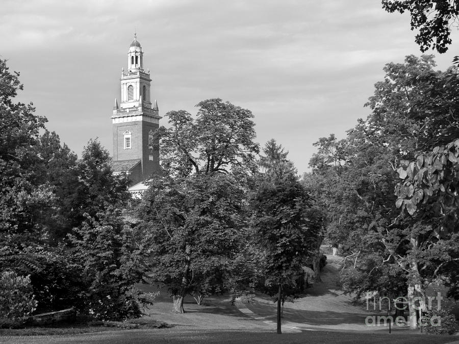 Denison University Swasey Chapel Photograph  - Denison University Swasey Chapel Fine Art Print