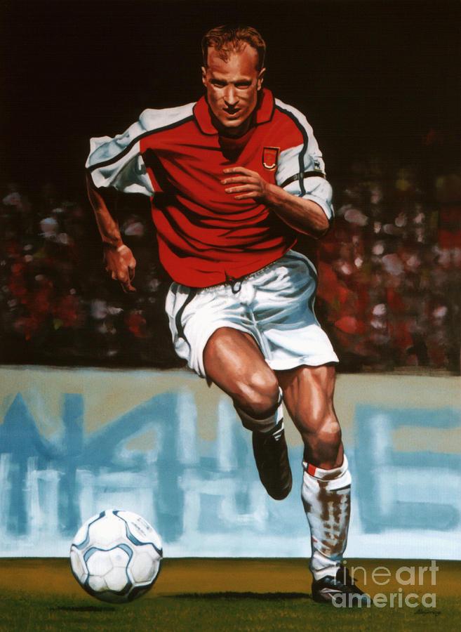 Dennis Bergkamp Painting - Dennis Bergkamp by Paul Meijering