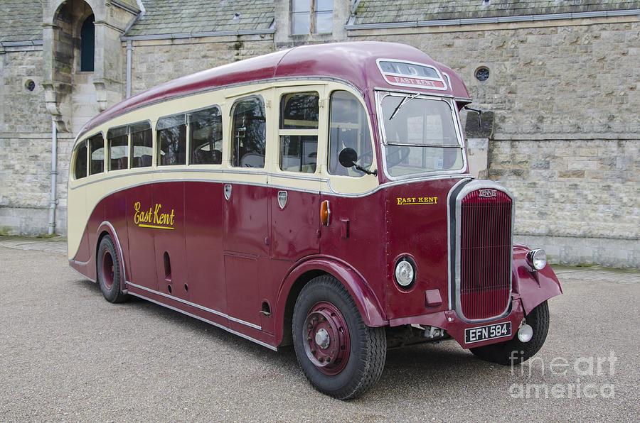 Dennis Lancet Vintage Bus Photograph