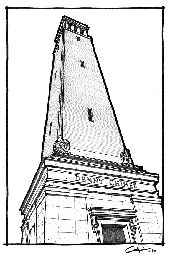 Denny Chimes Drawing