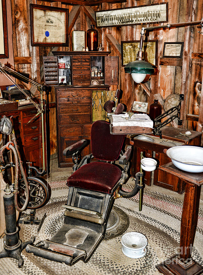 Dentist Photograph - Dentist - The Dentist Chair by Paul Ward