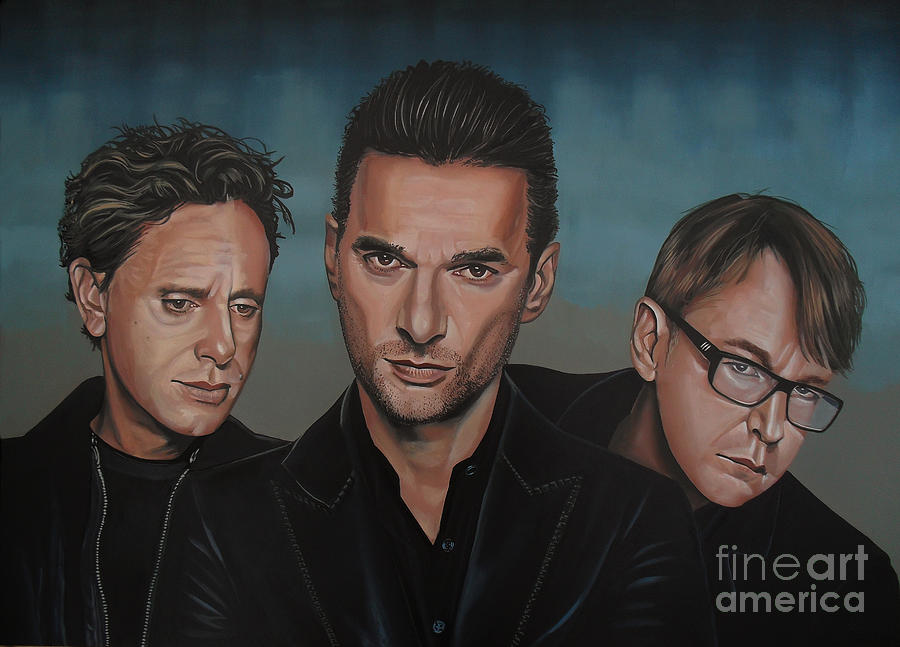 Depeche Mode Painting