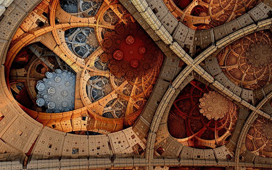 Digital Art - Depth And Color by Ricky Jarnagin