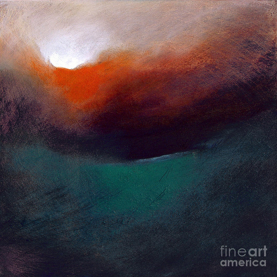 Depth Charged Painting  - Depth Charged Fine Art Print