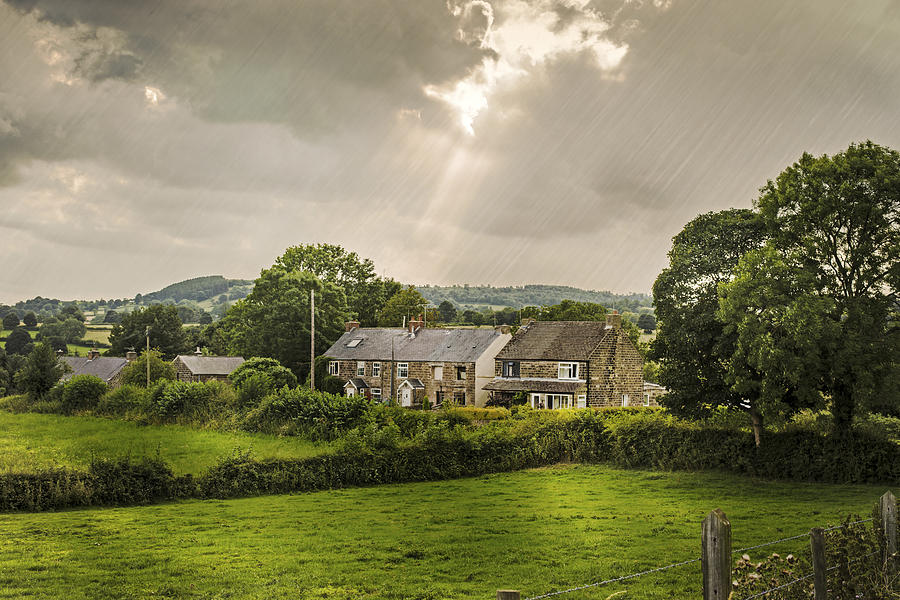 Derbyshire Cottages Photograph  - Derbyshire Cottages Fine Art Print