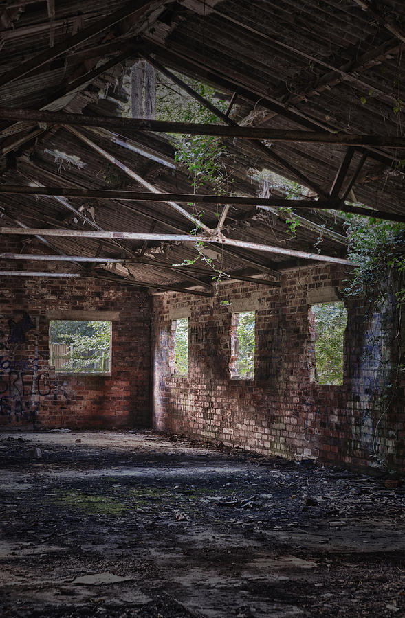 Derelict Photograph - Derelict Building by Amanda And Christopher Elwell