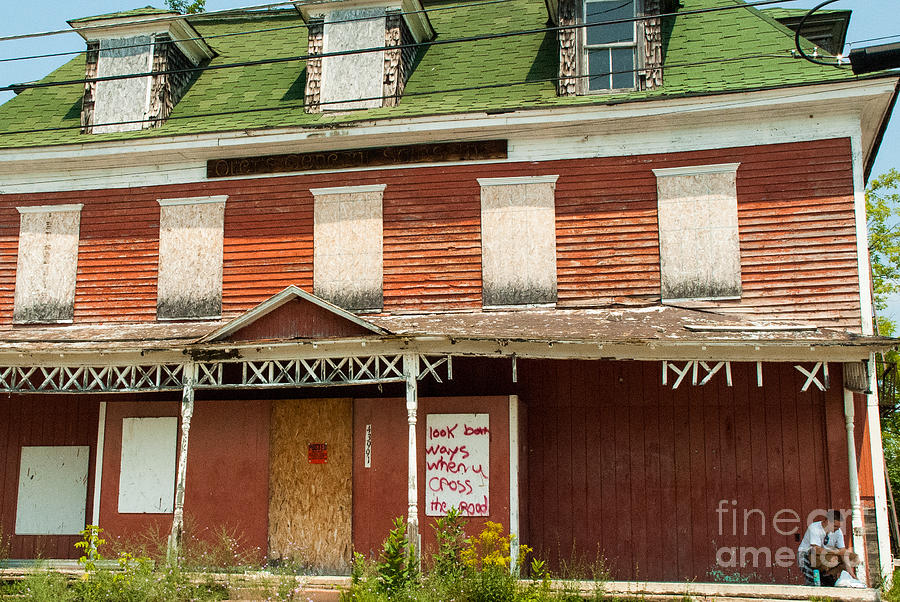 Derelict Buildings In Watertown Upstate New York Photograph