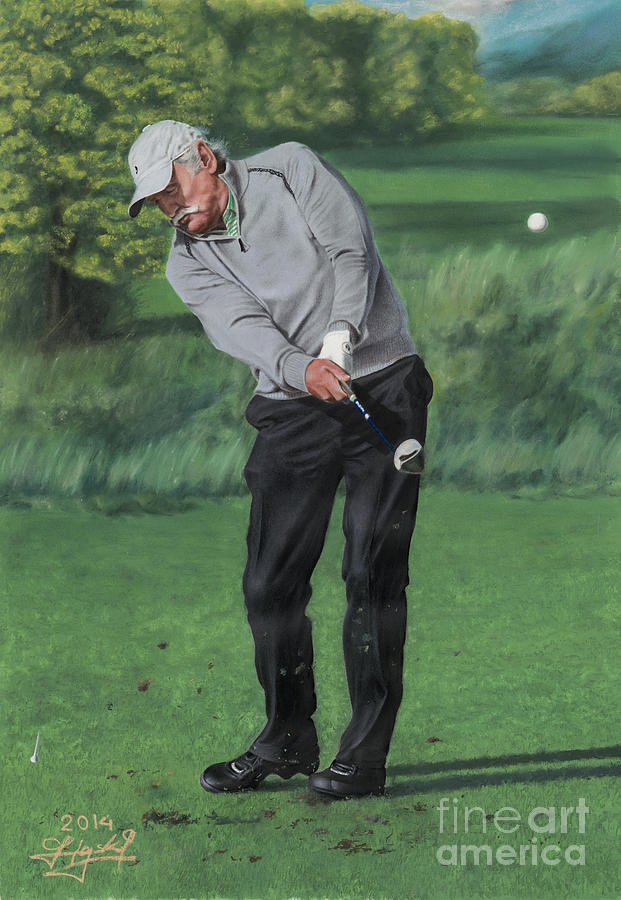 Dermot For Birdie Drawing