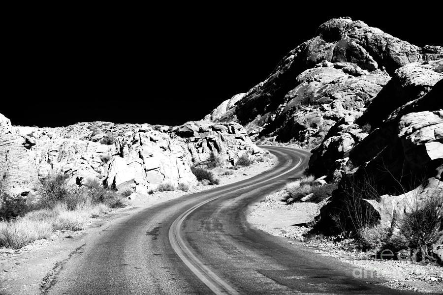 Desert Curves Photograph - Desert Curves by John Rizzuto