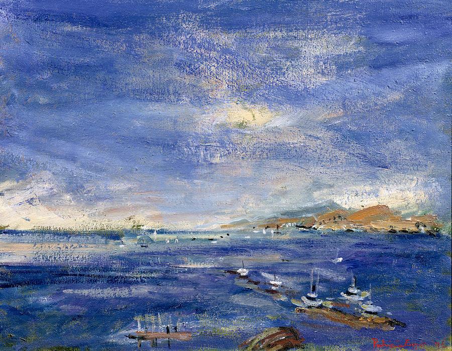 Desert Hills Painting