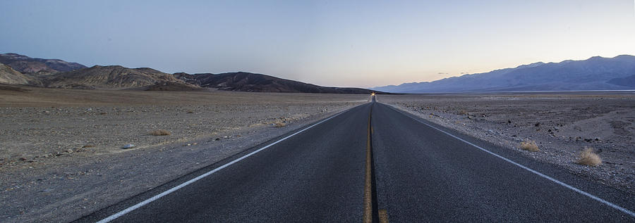 Desert Road Photograph
