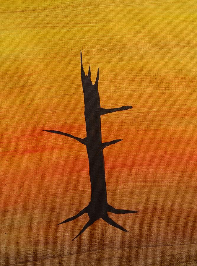 Desert Sentinal Painting