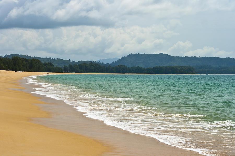 Thailand Beach Photograph - Deserted Beach by Georgia Fowler