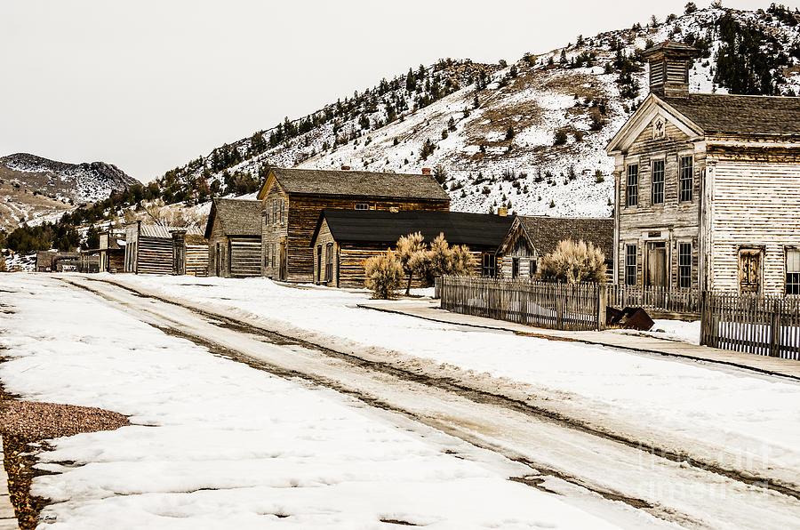 Deserted Street Photograph