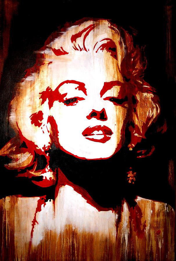 Desire Marilyn Monroe Painting