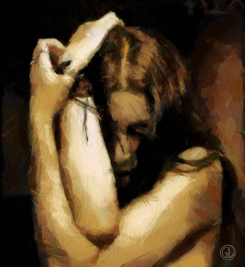 Despair Digital Art  - Despair Fine Art Print