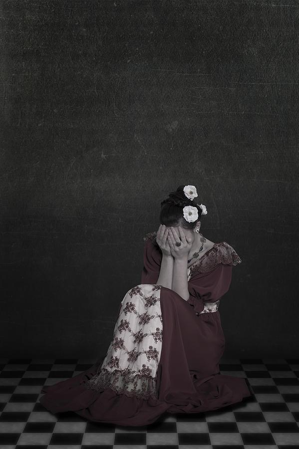 Woman Photograph - Desperate by Joana Kruse