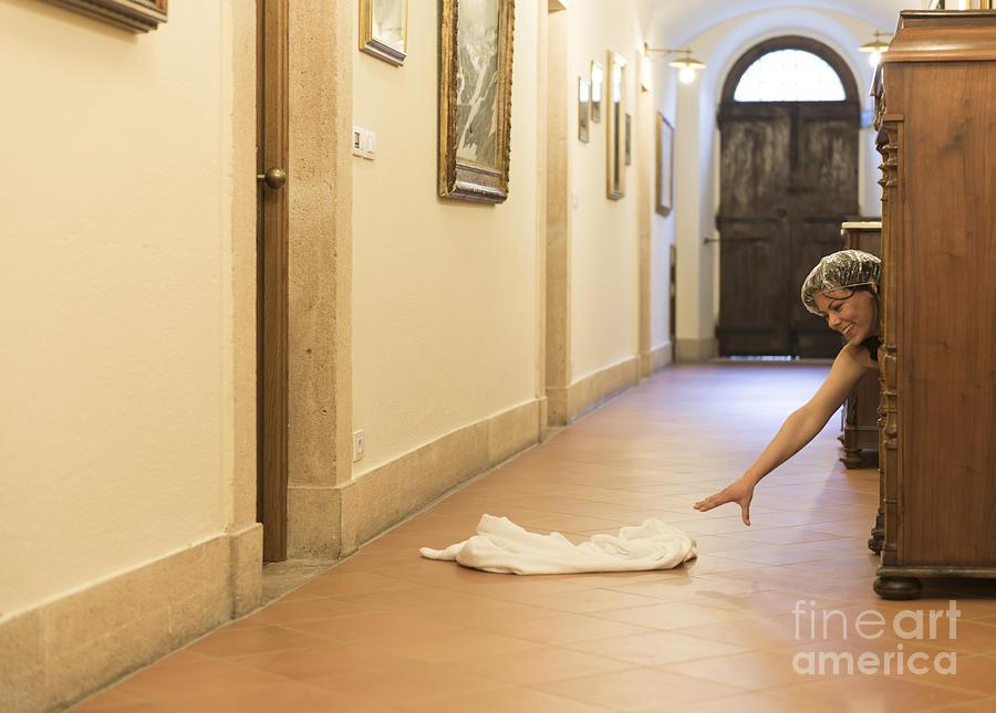 Woman Photograph - Desperate by Mats Silvan