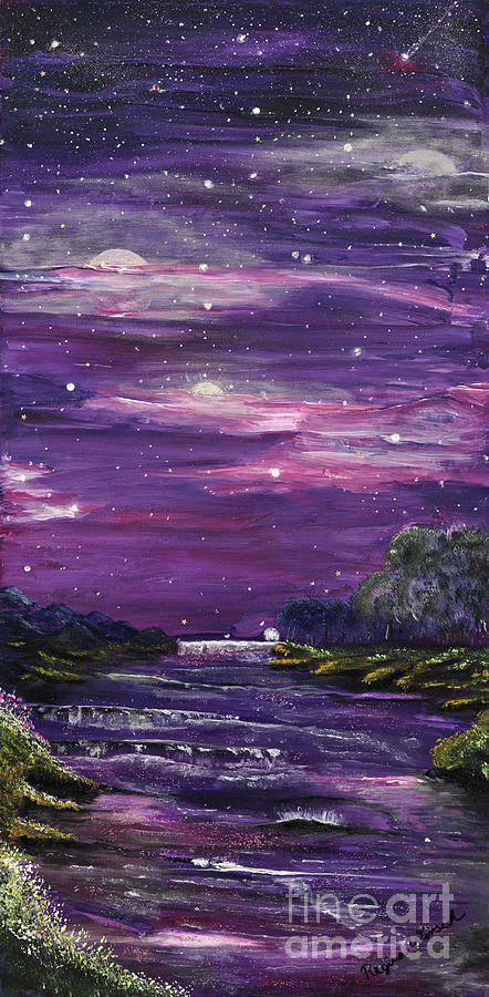 Searching For The Meaning Of Life Painting - Destination by Regina Wirsich Roberts