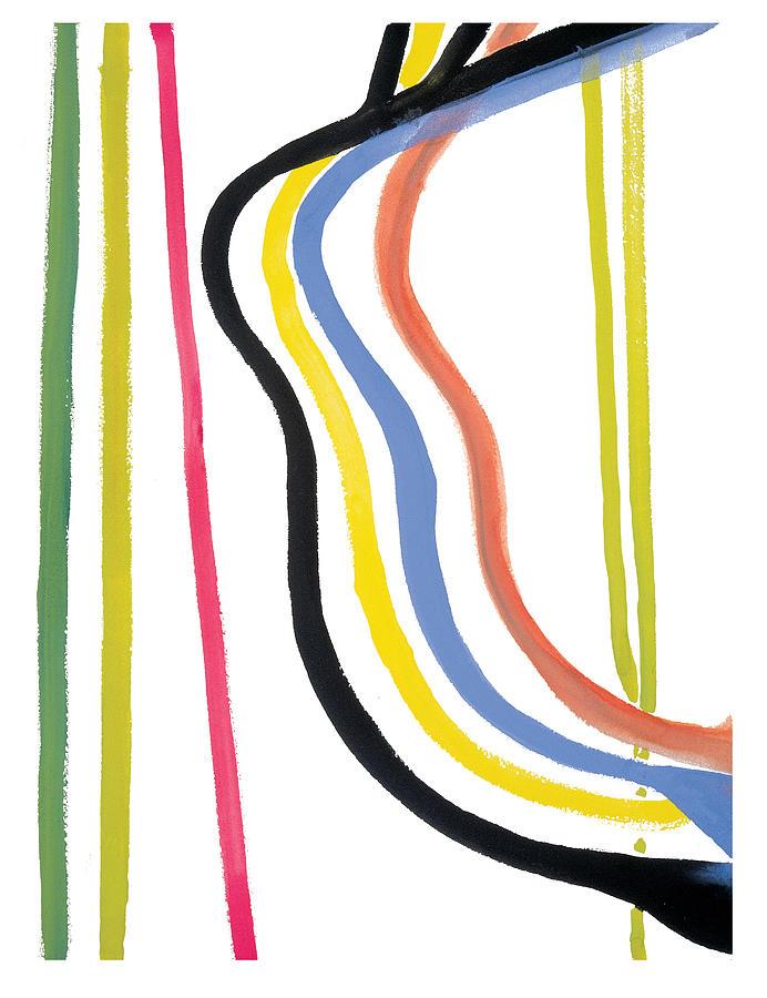 Abstract Painting - Destiny by Bjorn Sjogren