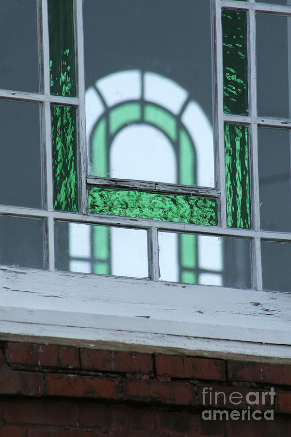 Building Photograph - Details In Green At St. John by Jennifer Apffel