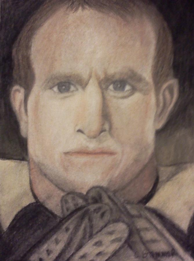 Nfl Pastel - Determination by Christy Saunders Church