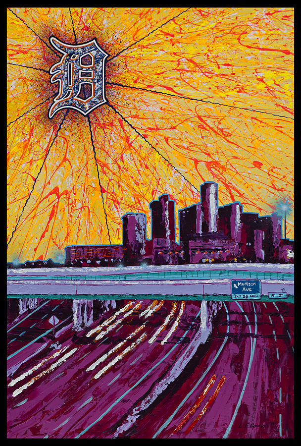 Detroit My City Painting
